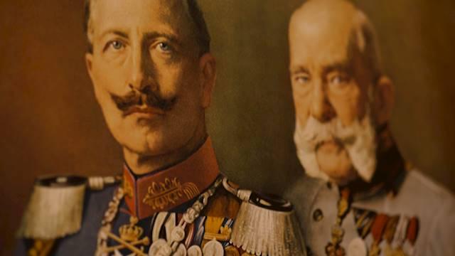 Kaiser Wilhelm II und Wilhelm der I