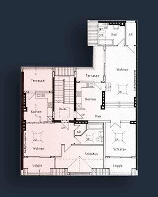 Bsp zwei Wohnungen